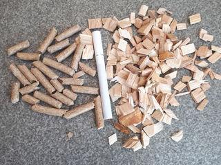 древесная щепа для котлов с автоматической подачей. Цена 2000 лей тонна