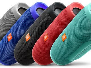 Разбуди соседей шикарным звуком! Портативная Bluetooth колонка JBL от 350 лей!