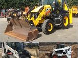 Servicii Tractor buldo si bobcat Kamaz excavator container pentru gunoi