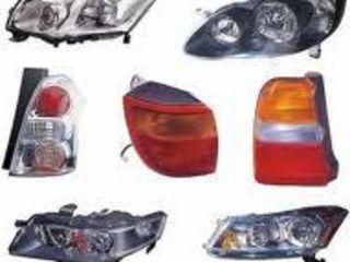 Авто оптика, фары,фонари, противотуманные фары.