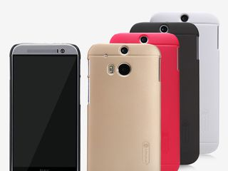 HTC One M8 чехол Nillkin Frosted Shield + защитная плёнка