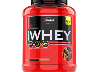 Genius Nutrition iWhey Protein Organic 2 kg - 996лей