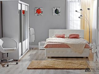 Dormitor Ambianta Samba Beige 1600 mm