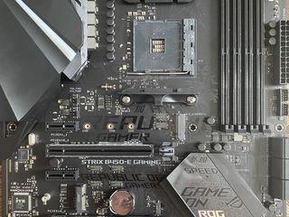 Продаю новую asus rog strix b450-e gaming + wi-fi торг уместен !