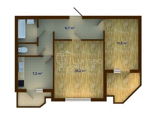 Квартира 2х комнатная плюс участок 6 соток