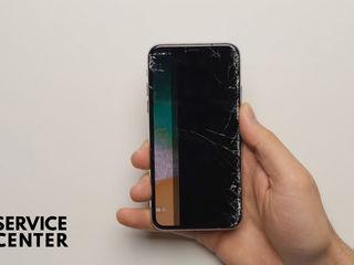 Iphone X Daca sticla ai stricat -Luăm, reparăm, aducem !!!