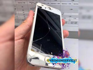 Reparaţia ecranului iPhone, sticla crăpată şi ecranul ieşit din funcţiune