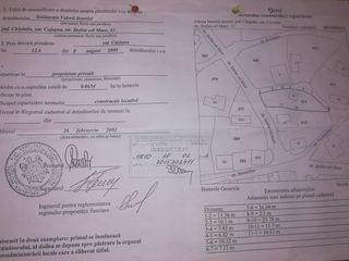 Jud.Chisinau.sat.Cojusna.str.Stefan cel mare-13 Pamint cu o soprafata totala de - 0.065ha