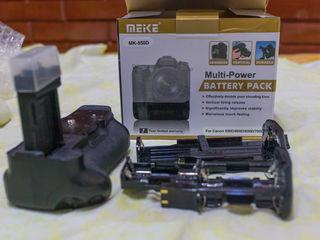 Вертикальный батарейный блок для Canon EOS 550D 600D 650D 700D