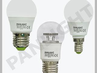 Светодиодные лампы, энергосберегающие, освещение led в Молдове, panlight, лампы, эконом лампы