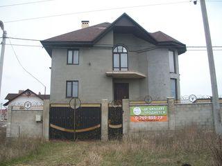 Casa 3 etaje-Cricova,6ari,365 m2-110000 euro