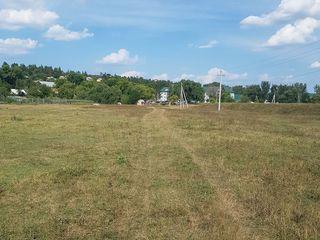 Urgent - 3900 euro - 8 ari , Hrușova.teren de construcție 13 km de la Chișinău