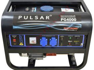 Бензиновый генератор Pulsar PG-4000/3,2 кВт/с быстрой доставкой на дом бесплатно+гарантия/ 6600 lei