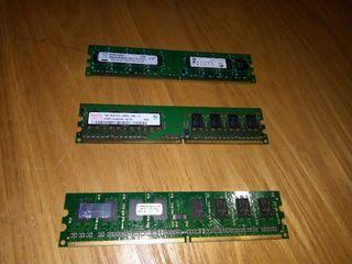 DDR-2 на 1 Gb 800 MHz (PC 6400), для стационарного ПК, отличные и протестированы
