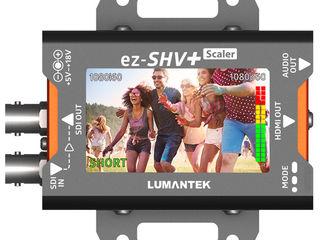Супер конвертер SDI в HDMI, Lumantek ez-SHV+, встроенный монитор, преобразование форматов