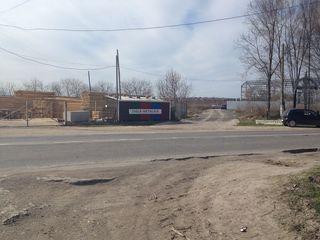 Urgent, teren la intrare in satul Vatra, la 2 km. de Chisinau, de la drum 50m,trasa Chisinau-Ungheni
