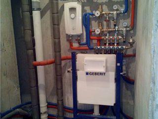 Разводка труб водоснабжения и канализации, установка сантехники, отопление от профессионалов !!!