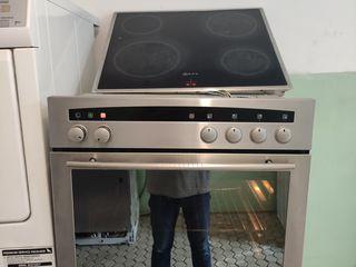 Комплект Neff (Bosch) из духовки и панели, а нержавейке!