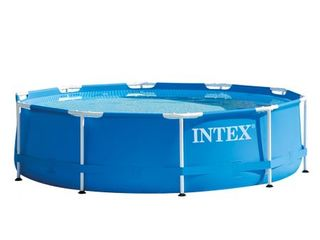 Piscina intex 28202np, cadru metalic, 305 x 76 cm, pompa filtrare inclusa