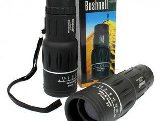 Сверхмощный компактный монокуляр bushnell 16x52.  для наблюдения на рыбалке, на охоте и на природе!