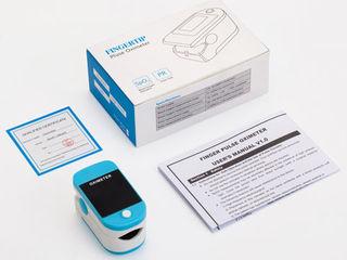 Пульсоксиметр Contact X1805 на палец для измерения пульса, сатурации (кислорода) в крови