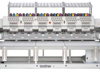 Услуги по машинной вышивке на промышленной 6-ти головочной вышивальной машине Brother BE1206