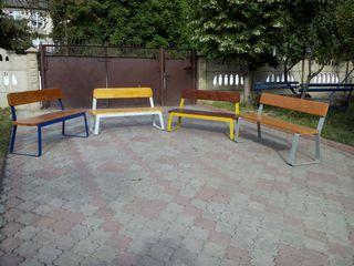 Scaune, mese, bănci pentru gradina, parcuri și zone de odihna. Садовые стулья и столы.