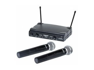 Bespeco GM905 - Sistem wireless VHF cu 2 microfoane