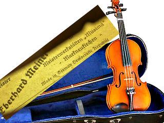 Скрипка GDR Eberhard Meinel violin 3/4 set=1870 mdl Vioara