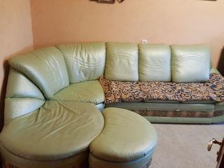 Угловой диван эко кожа