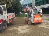 Camioane basculante. bobcat. excavator. evacuarea gunoi.