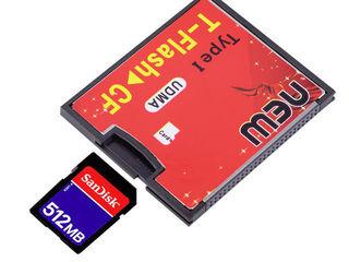 Адаптер CF Compact Flash - microSD