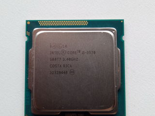 Intel i5 3570, 3,40-3.80 GHz