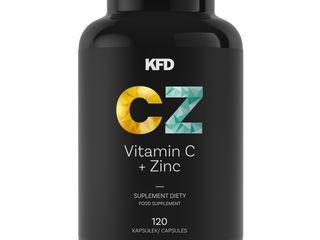 Витамины C + Zink 120 caps 170 лей