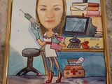 Caricaturi și portrete la comanda