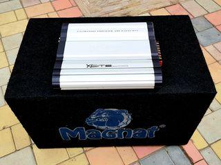 Sabufer Magnat  600 Watt si  Amplificator Magnat 600 Watt