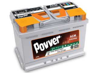 Acumulatoare 12V 45AH-225AH ( аккумулятор ) Povver