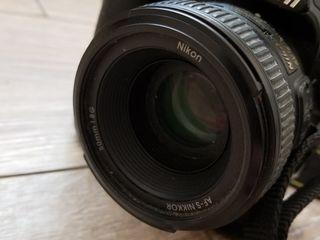 Nikon D3100 + объектив 50 mm 1.8.