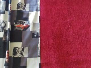 Махровый ковер 2x3м в комплекте со шторами 2,49м