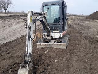 Excavator bobcat mini. мини бобкет  cu cupe .12500 eur.