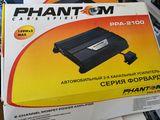 Продам усилитель Phantom 2х канальный 2 по150w