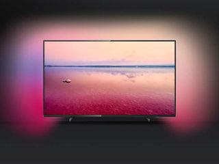 Super oferta tv led smart  philips 4k ultra hd 126 cm,50pus6704/12 nou!!!