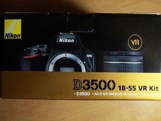 Nikon d3500 6500lei