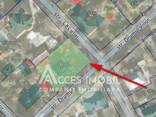 Lot de teren pentru construcții 7.5 ari! Centru, str. Lacului!