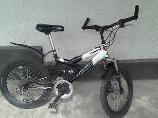 Подростковый спортивный  б/у велосипед