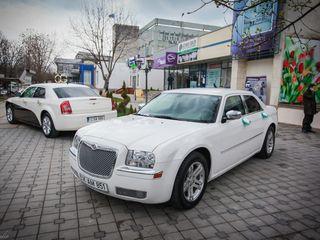 Nunti, ceremonii, delegatii, transferuri – Chrysler 300C & Sebring. Kortej, escorta.