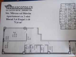 Apartament cu 2 odai (varianta alba)