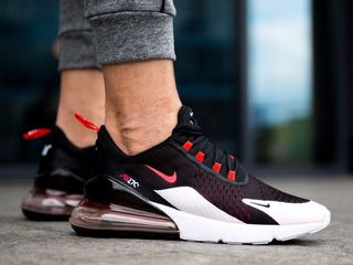 Nike Air Max 270 Black & Red & White
