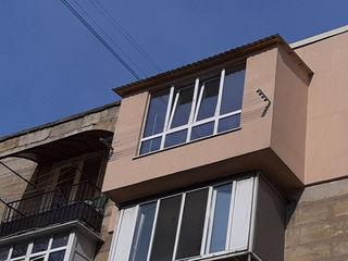 Reparatia balcoanelor, Hrusiovca modificarea balcoanelor,extinderea balcoanelor! Largirea 143 seria!