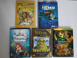 Продам DVD и BLU-RAY диски для детей